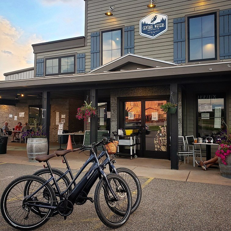 Bike the Tomorrow River State Trail, with a stop at the barrel-aging giant Central Waters Brewing Company in Amherst.