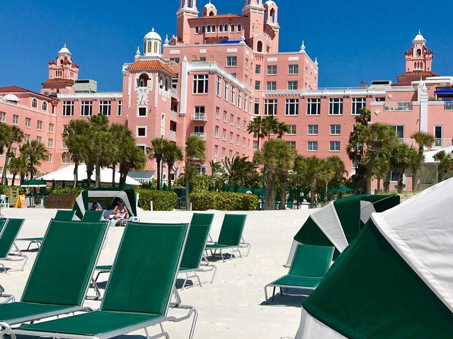 The lovely Don CeSar 🏖 #traveltuesday #latergram