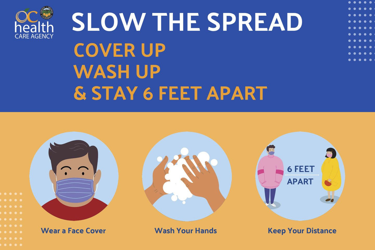 Slow the spread graphic