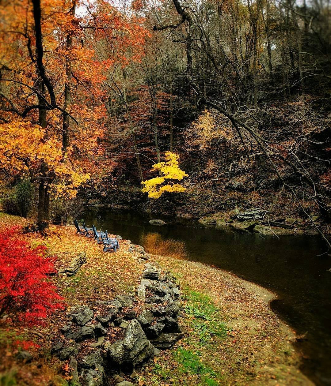 fall foliage in lancaster county