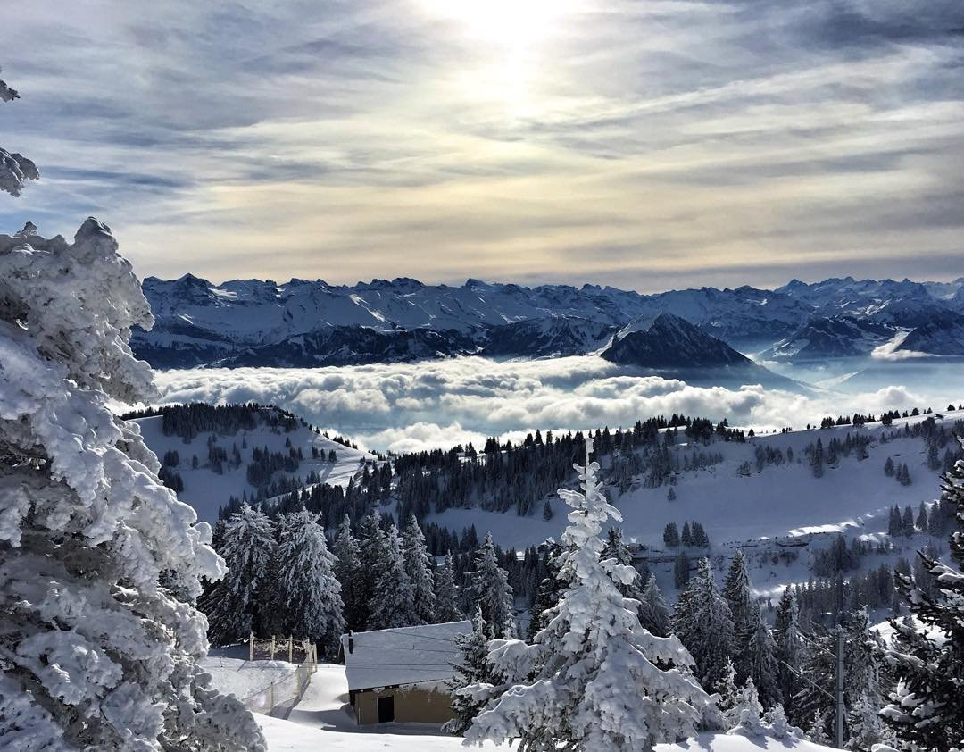 Mt Rigi, Swiss Alps, Switzerland