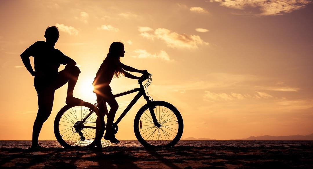 Ride off into the sunset! Follow us so you can keep updated on the future calendar of events happening here at Tony's. We have new stuff in the works for the community.  #stpetersburgflorida #tonysbikeshop #rideofintothesunset #florida #visitstpete #theburg #beachcruiser #sunset #twowheelsarebetterthannone