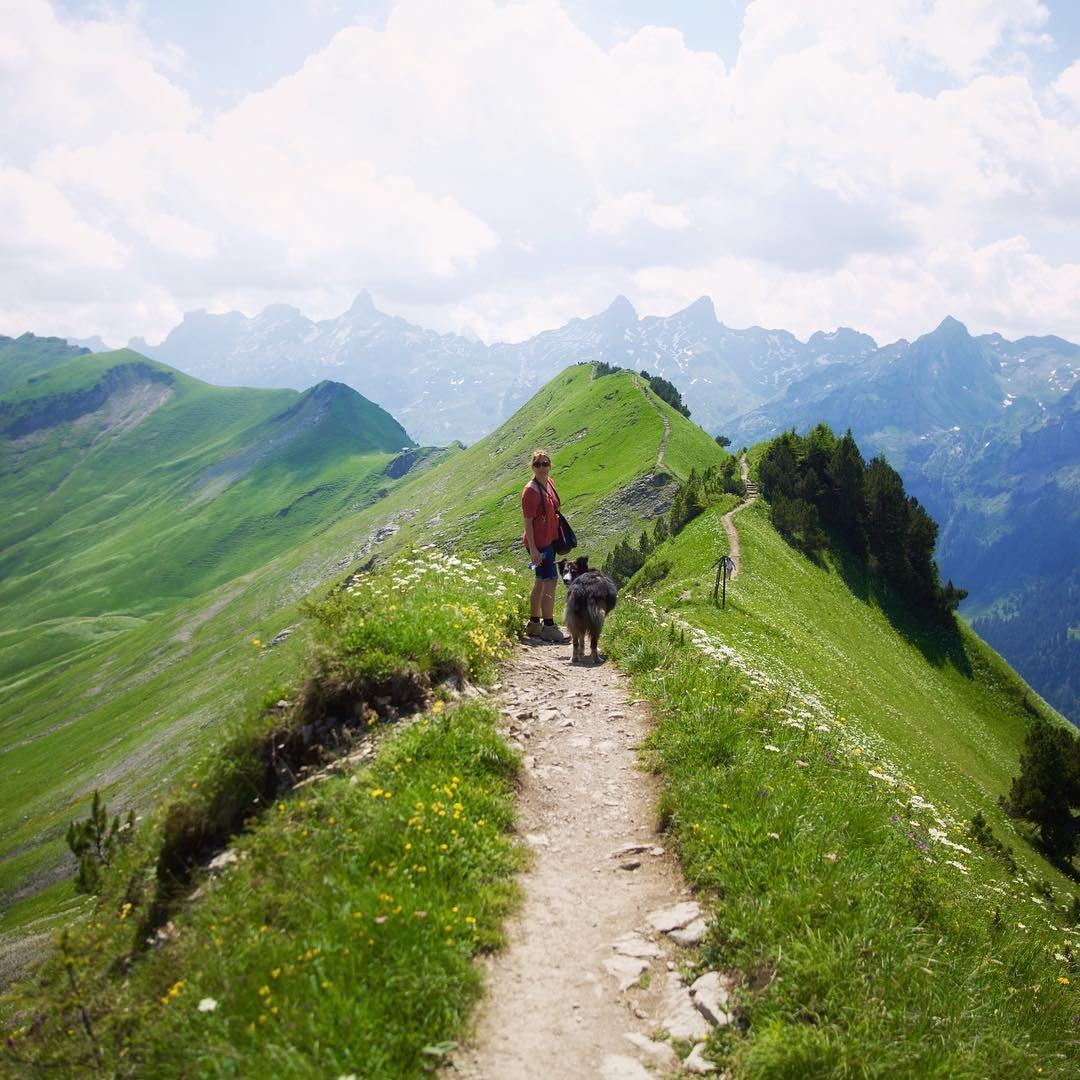 Crest Hike Stoos Recreation In Zurich