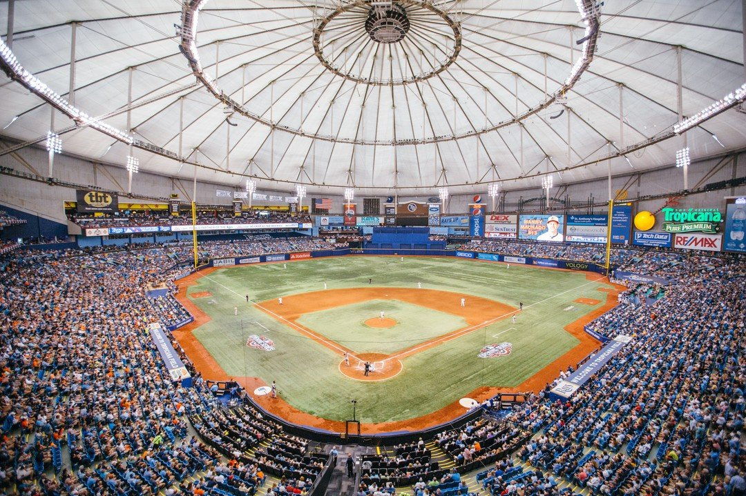 Few people can say they live blocks from a professional ballpark... but our residents can! Tropicana Field is just a short walk away, and the Tampa Bay Rays take on the Baltimore Orioles tonight. We'll be watching. 😎 #RaysUp raysbaseball  _  #livecentral #live930 #930centralflats #ilovedtsp #igersstpete #ilovetheburg #dtsp #keepstpetelocal #instaburg #stpetefl #floridaliving #stpete #saintpetersburg #theburg #tampabay #lovefl #liveamplified #stpetelife #vspc #sunshinecity #sunshinestpete  #forrent #stpeteapartment #dtspapartment #pureflorida #petfriendly #RaysBaseball #TampaBayRays #RaysWin