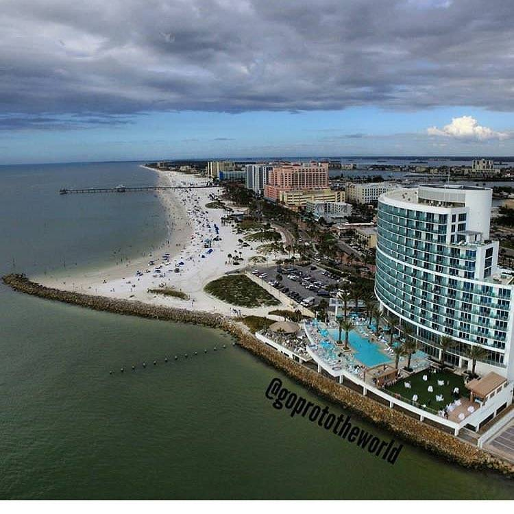Actual footage of yesterday in paradise 🌤 📸 @goprototheworld  #opalsands #opalsandsresort #clearwaterbeach #dronestagram #repost #birdseyeview #instavacation #instafab #vspc #liveamplified #lovefl #visitflorida #droneoftheday #arial #opalcollection #instaclouds #gulfofmexico #westcoastflorida #vacationmode #yes