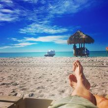 Half a day in paradise is better than none at all. #travelswithjonesy