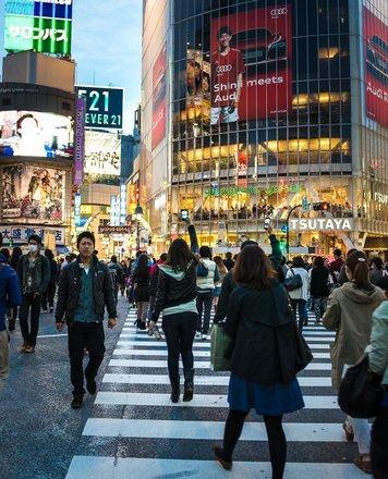 Shibuya Crossing Tours