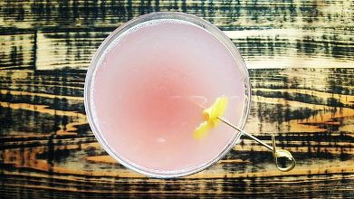 Here's a mystery gin cocktail at @StillwatersTavern in St. Pete.