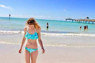 Clearwater, clear mind. It feels good to feel good 🌸🌊💆🏼✨ #vegan #plantbased #recovery