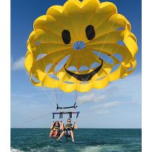 When your flight gets cancelled, find other ways to fly @parasailclearwater