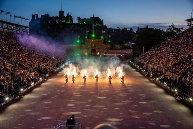 Edinburgh Military Tattoo Coach Tours