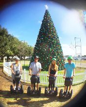 Family holiday segway tour ☀️🎄 #christmasinflorida #floridawinter #winterinfl