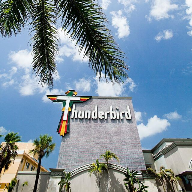 Discover amazing Americana eye candy along America's Best Beaches, like the Thunderbird Beach Resort on Treasure Island! . #americana #americasbestbeaches #treasureisland #igersstpete #LiveAmplified #LoveFL