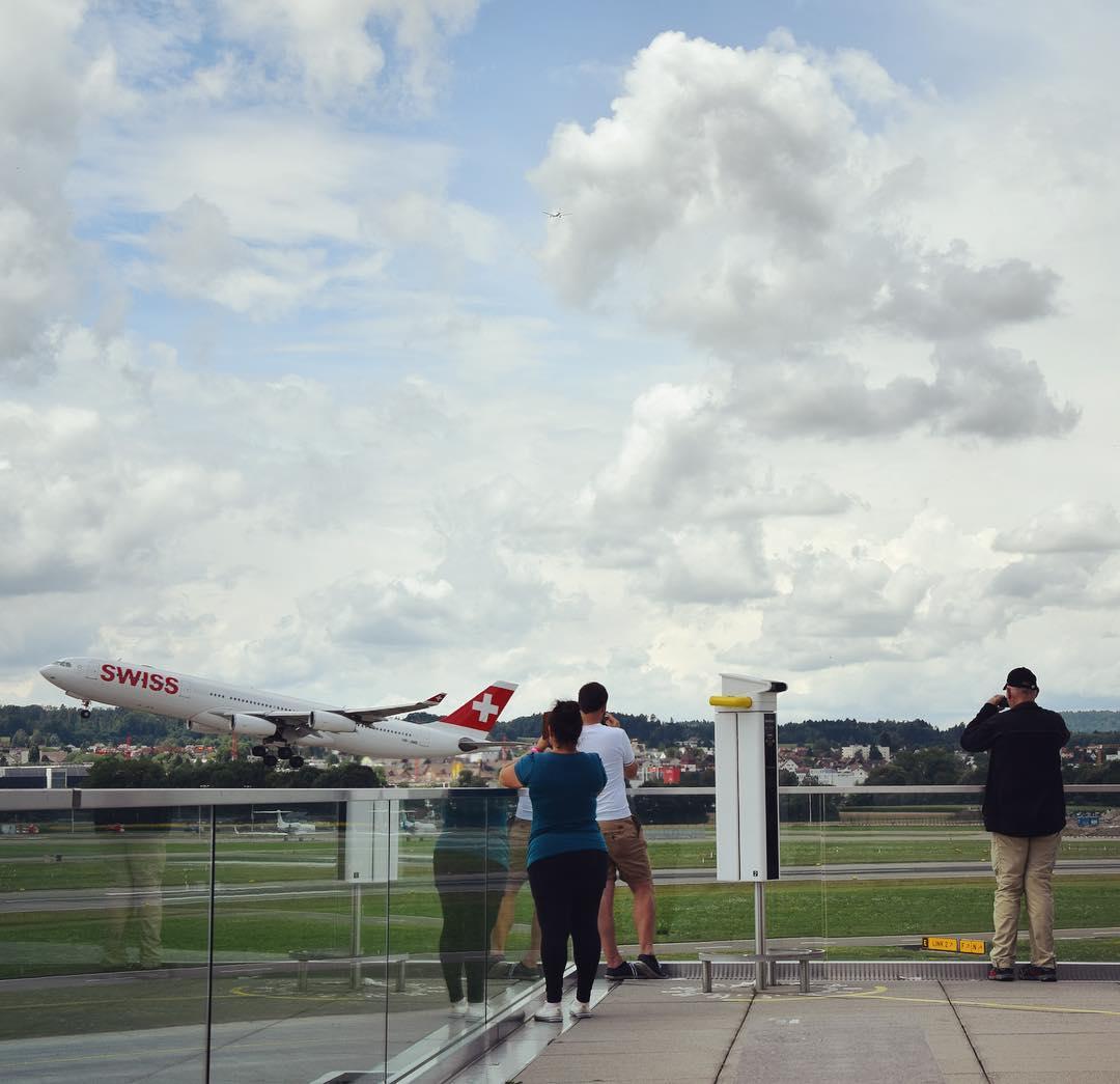 Image from instagram by Flughafen Zürich ZRH