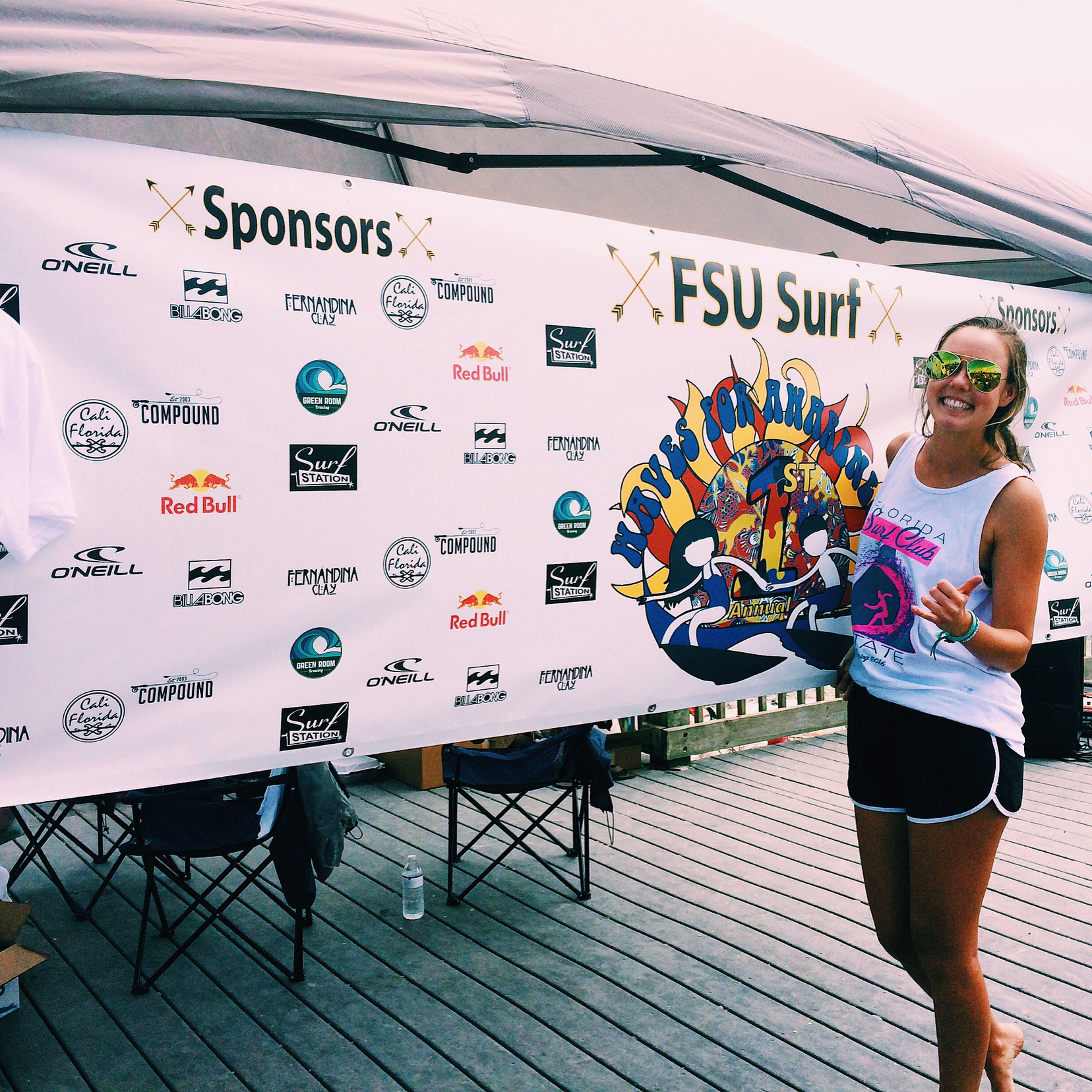 Our sister Emily Repka was nominated as FSU Surf club's
