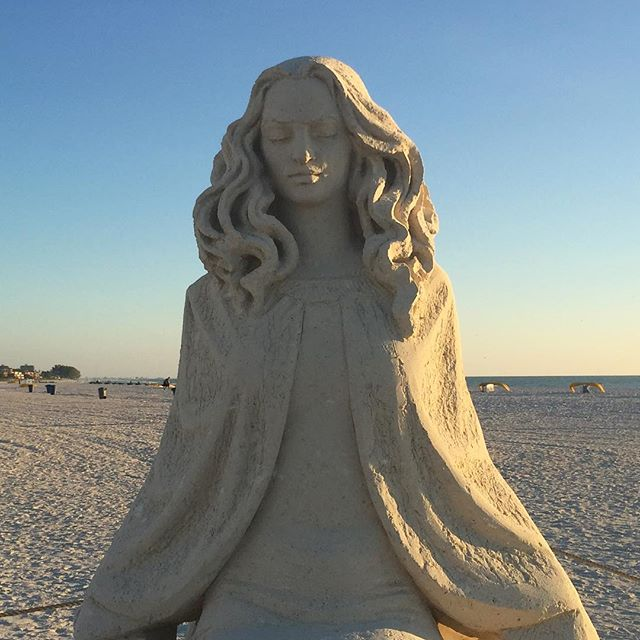 Stunning sand sculptures from the Sanding Ovations competition are still standing tall on Treasure Island! . #LiveAmplified #sandsculpture #treasureisland #LoveFL #igersstpete