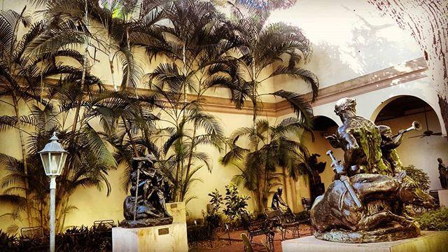Monet was nice, until I got to the sculpture garden #mfa #dtsp #stpete