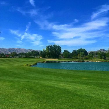 """Everything negative - pressure, challenges - are all opportunities for me to rise"" . . . Hole 6 Par 5 Red Hawk Golf Course - Lakes Course  Sparks Nevada  . . .  #golf #golfphotos #golfphotography #golfcourse #golfer #marketing #advertisement #networking #realestate #buying #selling #golfing #fitness #healthy #lifestyle #pga #lpga #sport #travel #vacation #reno #laketahoe #nevada #northernnevada #livenorthernnevada #golfnorthernnevada #naturephotography #photography #photographer"
