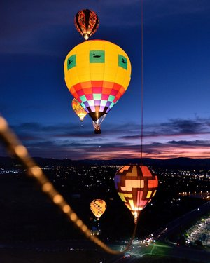 Be a light for all to see 🎈 #RenoBalloonRace