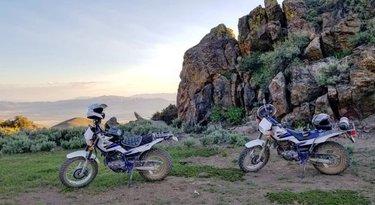 #getoutside #adventurer #mountains #sunset #nevada #dfmi #winnemucca #tw200