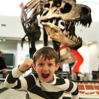 Very fond memories of when Sue the T. rex so graciously welcomed visitors to The Discovery. We miss our visitors and we miss Sue! #stayhomefornevada