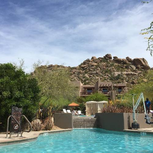 Thank you so much @fergusonshowrooms for this relaxing weekend! Can't think of anything better! #poolside #pool #fourseasons #scottsdale #vacation