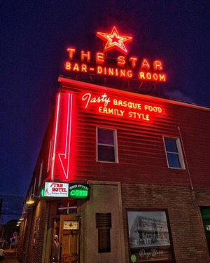 I'm missing the lamb chops in this place. Only a short 500 mile drive (or ride) from Vegas and absolutely worth it. The Star is my go to place for dinner in Elko. Everything is served family style, if you go away hungry, it's your own fault. Great food, drinks and people. Try a Picon Punch and don't forget to tip your waitress.  #BattleBornAdventureReady #AWorldWithinAStateApart #ExploreNevada  #Nevada  #NevadaLife #DontFenceMeIn  #TravelNevada #NevadaBackroads #NevadaBackcountry #only_in_nevada  #elkonevada  elkostarhotel