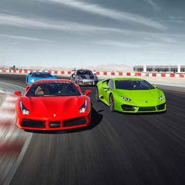 Supercars' heaven is here in Las Vegas✨ at Exotics Racing🏁 Drive with us and join the world's largest motorsports competition, the #michelintimetrialchallenge ⏱ what is your best lap time on our racetrack?  #exoticsracing #exoticsracinglasvegas #lasvegas #racetrack #supercars #ferrari  #lamborghini #porsche #vegas #vegasstrip #carsandcoffee #carsoftheday #carswithoutlimit #michelintimetrialchallenge