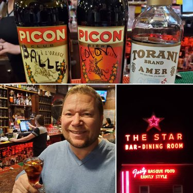 Enjoying a northern Nevada classic, Picon Punch, at the historic Star Hotel in Elko. The Star was built in 1910 and even served drinks in a private room during prohibition. Picon Punch is considered to be brought to the area by the towns' substantial Basque population around the same time the Star opened.