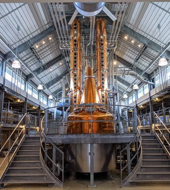 What a stunning look when you first walk into bentlyheritagedistillery in Minden, Nevada. Those bright sparkling German column stills set the mood for this amazingly intricate vodka, gin, and bourbon making facility.  The attention to detail here is epic and as an Estate certified distillery, they control production from one end to the other, including growing all of their own gains on bentlyranch in the shadows of the Sierra Nevada mountains in the high desert.