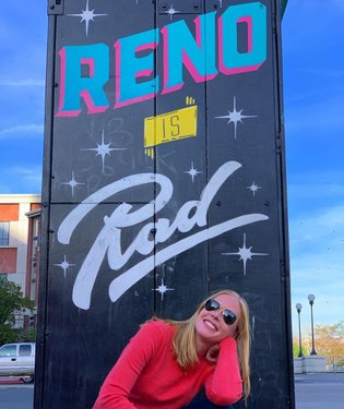 Reno is pretty rad. Cool vibes and loving the #streetart here.