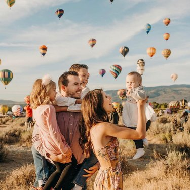 When we have each other, we have everything 🎈#RenoBalloonRace  Photo Credit: cseels10