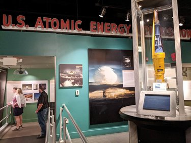 And apparently there was also atomic testing nearby? Again, who knew . . . #atomictesting #museum #lasvegas #nevada #coldwar #history #vacation #southwest #humor #sarcasm #travel #travelgram #instatravel #travelphotography #explore #mytinyatlas #beautifuldestinations #southernliving #postcardplaces #passionpassport #cntraveler