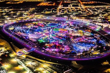 Our happy place.❤️✨ Which part of #EDCLV2021 are YOU most excited to explore?!⚡️🎡🌈  Join us Under the Electric Sky for just a $20 deposit → edclasvegas.com/tickets
