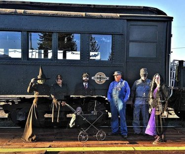 Our Haunted Halloween Train rides start this Friday at 7pm. Come take a 2 hour ghostly train ride that you won't forget here in Ely, Nevada.  #halloween #railroad #train #nevada #photooftheday #photography #travelhappy #travelphotography #trains_worldwide #train_nerds #railroad #landscapephotography #landscape #landscape_love #american #americanwest #west