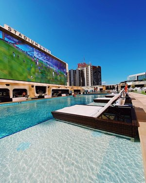 Poolside is your best side.   #StadiumSwim #CircaLasVegas #DTLV #Vegas