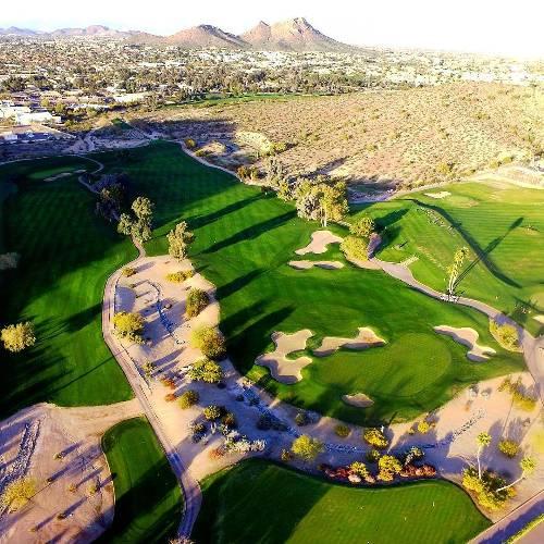Well April, it sure has been fun! . . . #sundayfunday #lmgc #troon #golf #golfcourse #golfstagram #instagolf #drone #dronestagram #golfresort #hilton #visitphoenix #arizonagolf #lookoutmountain