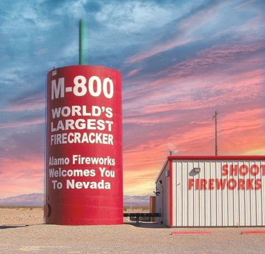 *Alexa play firework by Katy Perry* 🎇🧨🎆 #happy4thofjuly #fireworks #besafe #lastyearsroadtrip #nevada