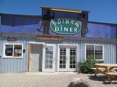 Don't let the name fool you: The menu at Goldfield favorite Dinky Diner is anything but small. Enjoy breakfast entrees like the Wild One omelet, chicken fried steak, breakfast burritos or the Hungry Man's Special. For lunch, try a hearty burger, fish and chips or deli-style sandwiches. 😋 #yum #nveats #nevadasilvertrails #travelnevada #explore #goldfieldnevada #discovernevada