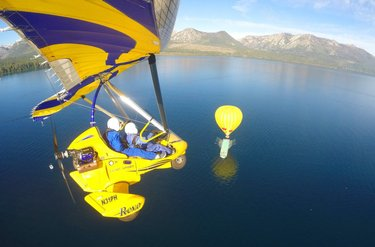 Now THAT's what we call amazing! Who's ready to try this?   Image appears courtesy:  Hang Gliding Tahoe