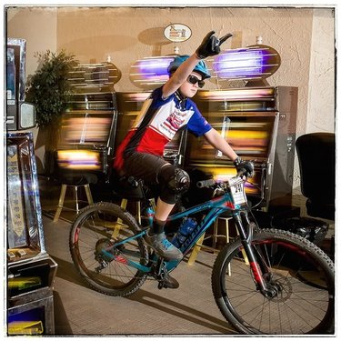 Follow-up to the LR export post I made a few days ago. The #fearstearsandbeers #mtb #enduro is one of the most unique races around. It was the first mountain bike enduro (it's 14 years old) and where else do you get to ride your bike through a #casino? Click the link on my profile to see more photos and read all about it.
