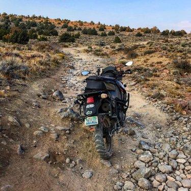Checking out some new local roads! . . . . . #homemeansnevada #renotahoe #reno #ridelocal #dualsport #klr650 #adventuremotorcycle #dualsportlife #motorbike #twowheels #offroad #highdesert #nevada #howtonevada #adventureride #moto #motogram #mototravel #brap #backroads #dirt #dirtroadtherapy #northernnevada