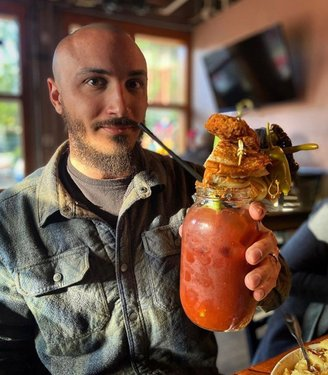 Welcoming in summer. The Tahoe Tessie is exactly what your weekend brunch has been missing! 32 ounces of our delicious house Bloody Mary recipe topped with a celery stick, chicken tender, roasted jalapeño, bacon wrapped shrimp, and a grilled cheese sandwich. Come and order yours this week! ag us for a story feature! #heavenlyvillagetahoe #laketahoe #holidayseason #tahoesouth #skiheavenly  Follow @heavenlyvillagetahoe for more local Tahoe lifestyle. ................................ Tag @heavenlyvillagetahoe and get featured!! 📷 @gunbarrel_tavern ............................... ............................... ............................... ............................... #LakeTahoe #SouthLakeTahoe #Tahoe #Tahome #EmeraldBay #TahoeLife #Truckee #CarsonCity #Reno #RenoNevada #SierraNevada #Nevada #TravelNevada #California #VisitCalifornia #CaliforniaAdventure #CaliforniaDreaming #California_igers #NationalParks #NationalPark  #norcal #heavenlyvillage #heavenlymountain