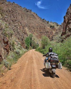 Heading up Gold Creek Road to Jarbidge.  #BattleBornAdventureReady #AWorldWithinAStateApart #ExploreNevada  #Nevada  #NevadaLife #DontFenceMeIn  #TravelNevada #NevadaBackroads #NevadaBackcountry #only_in_nevada  #wildhorsereservoir  #jarbidge