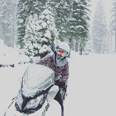 Anyone else missing winter? Maybe a little bit? #TahoeSnowmibiles ❄️ 📷: anni1865