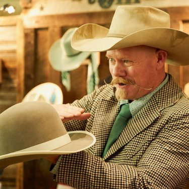 You'll find the highest quality authentic western gear, arts, and crafts at the Western Mercantile during the 36th National Cowboy Poetry Gathering. Chaz Mitchell is the witty, wild-eyed, western-bred buckaroo behind @chazhatz Chaz Mitchell's Custom Hats.