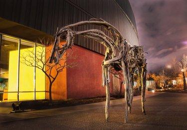 Home means the Nevada Museum of Art!  #HomeMeansNevada #NevadaMuseumofArt #RenoisArtown #Photography #ArtMuseum  #Sculpture #Museum #FineArt #Artown #Horse #Art 📷: timmyrobb