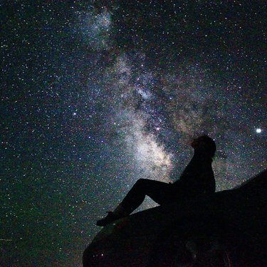 A night out stargazing in #imlaynevada #travelnevada #getoutside
