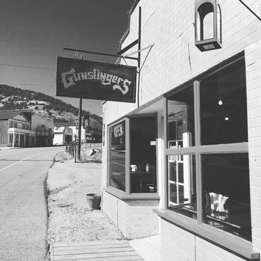 It's a beautiful day in Pioche, NV. Stop in grab a coffee, shake, Banana Split or Fresh Sub.... #Gunslingers 597 Main St.