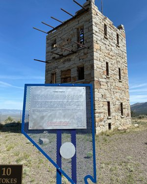 Man, I love exploring and the history of Nevada. Finally was able to visit Stokes Castle today in Austin, NV. #battleborn #battleborntoyotas #explorenevada #silverstate